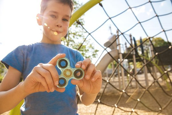 science of fidget spinners